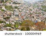 Jerusalem's Urban background - stock photo