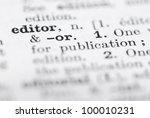 Shallow Dof  Focus On Editor I...