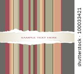 vertical colored lines on the... | Shutterstock .eps vector #100033421