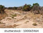 Rocky Dry Riverbed Landscape...