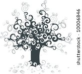 abstract tree | Shutterstock .eps vector #10006846