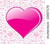 abstract valentine background... | Shutterstock .eps vector #10007170