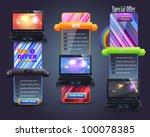 banner template vector design | Shutterstock .eps vector #100078385