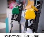 petrol pump station | Shutterstock . vector #100132001