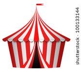 vector illustration of circus... | Shutterstock .eps vector #100133144