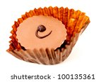 chocolate in a wrapper | Shutterstock . vector #100135361