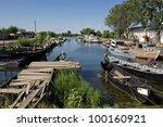 hafen von sfantu gheorge | Shutterstock . vector #100160921