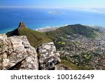 A Panoramic View Of Lions Head...