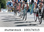 Group Of Cyclist At...