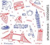 British Symbols And Icons...