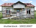 Old Deserted Wooden Farm House...