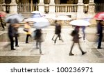intentionally motion blurred... | Shutterstock . vector #100236971