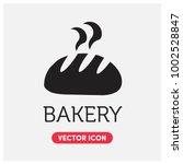 bakery vector icon illustration ... | Shutterstock .eps vector #1002528847