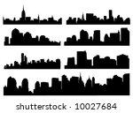 skyline | Shutterstock .eps vector #10027684