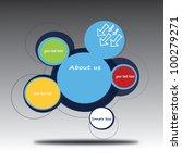 vector illustration of abstract ... | Shutterstock .eps vector #100279271