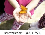 Yellow Colored Butterfly Hop A...