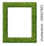 Grass Frame Or Green Turf...