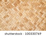 woven rattan with natural... | Shutterstock . vector #100330769