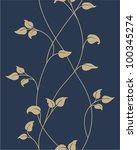 floral seamless pattern   Shutterstock .eps vector #100345274