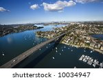 aerial view of victoria road... | Shutterstock . vector #10034947