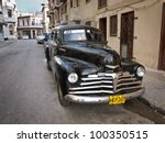 havana april 15 classic... | Shutterstock . vector #100350515