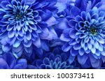 Nature Background Of Blue...