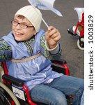 demonstration of disabled... | Shutterstock . vector #1003829