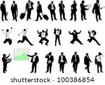 business people collection | Shutterstock .eps vector #100386854