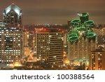 Night Scene Of Downtown San...