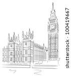 Big Ben And House Of Parliamen...