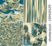set of vector illustration ... | Shutterstock .eps vector #100420159