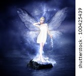 Magical Young Blond Woman As...