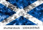 scotland smoke flag