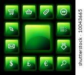 vector webshop icon set