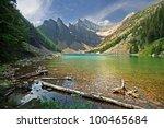 lake agnes  lake louise  banff ... | Shutterstock . vector #100465684