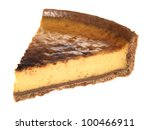 single slice irish cream tart | Shutterstock . vector #100466911