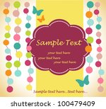 template frame design for... | Shutterstock .eps vector #100479409