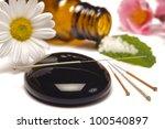 alternative medicine with... | Shutterstock . vector #100540897