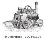 Agricultural Traction Engine ...