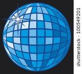 disco ball | Shutterstock . vector #100549201