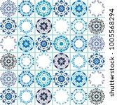 lisbon  mediterranean style... | Shutterstock .eps vector #1005568294