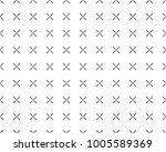 seamless ornamental vector... | Shutterstock .eps vector #1005589369