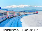 Red Diesel Train  East Express...