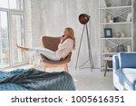 nice talk with boyfriend.... | Shutterstock . vector #1005616351