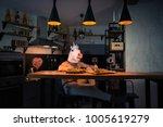 Fantasy Person Sits At The Bar...