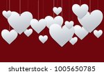 valentine's day. abstract... | Shutterstock .eps vector #1005650785