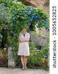model against st. john in the...   Shutterstock . vector #1005652825