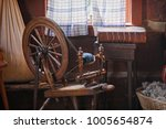 Old Country House With Antique...