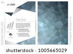 dark blue vector  banner for... | Shutterstock .eps vector #1005665029