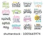 Vector Illustration Of Spring...